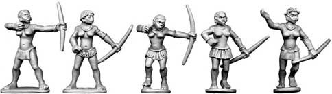 Ngoni Female Archers