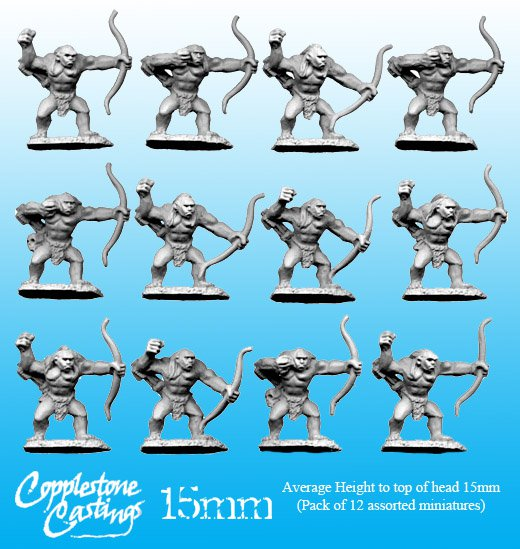 15mm Pict Archers