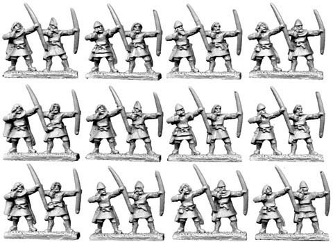 10mm Horse Tribe Foot Archers