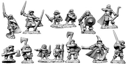 10mm Heroes and Halflings
