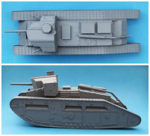 Medium C `Hornet` Male Tank with 6pdr Gun