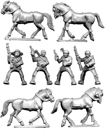 Mounted Chinese Bandits 2
