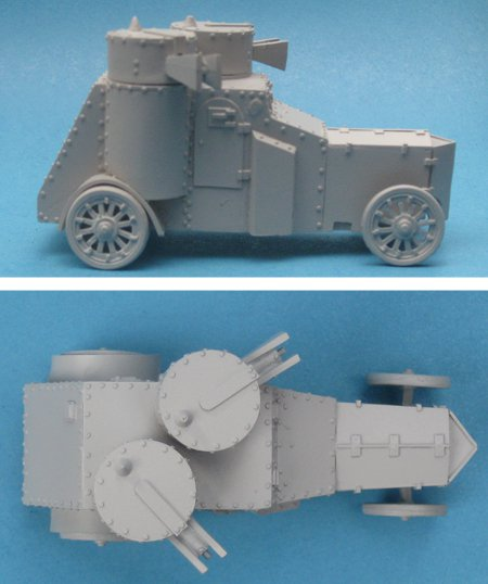 Izhorski-Fiat Armoured Car