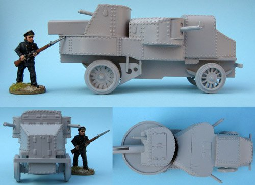 Garford-Putilov Heavy Armoured Car