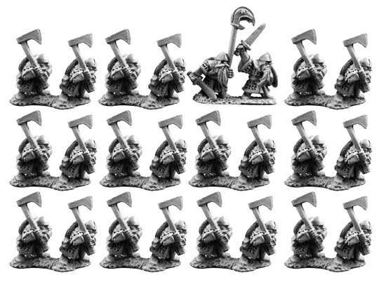 10mm Dwarfs with Axes