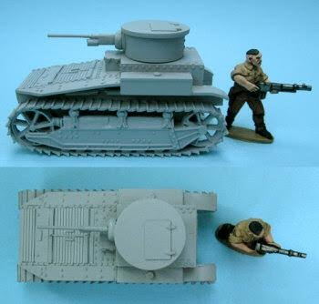 T1E2 US Light Tank