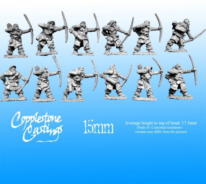 15mm Ice Tribe Archers