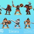 Photo of 15mm Barbarian Heroes (FM01)